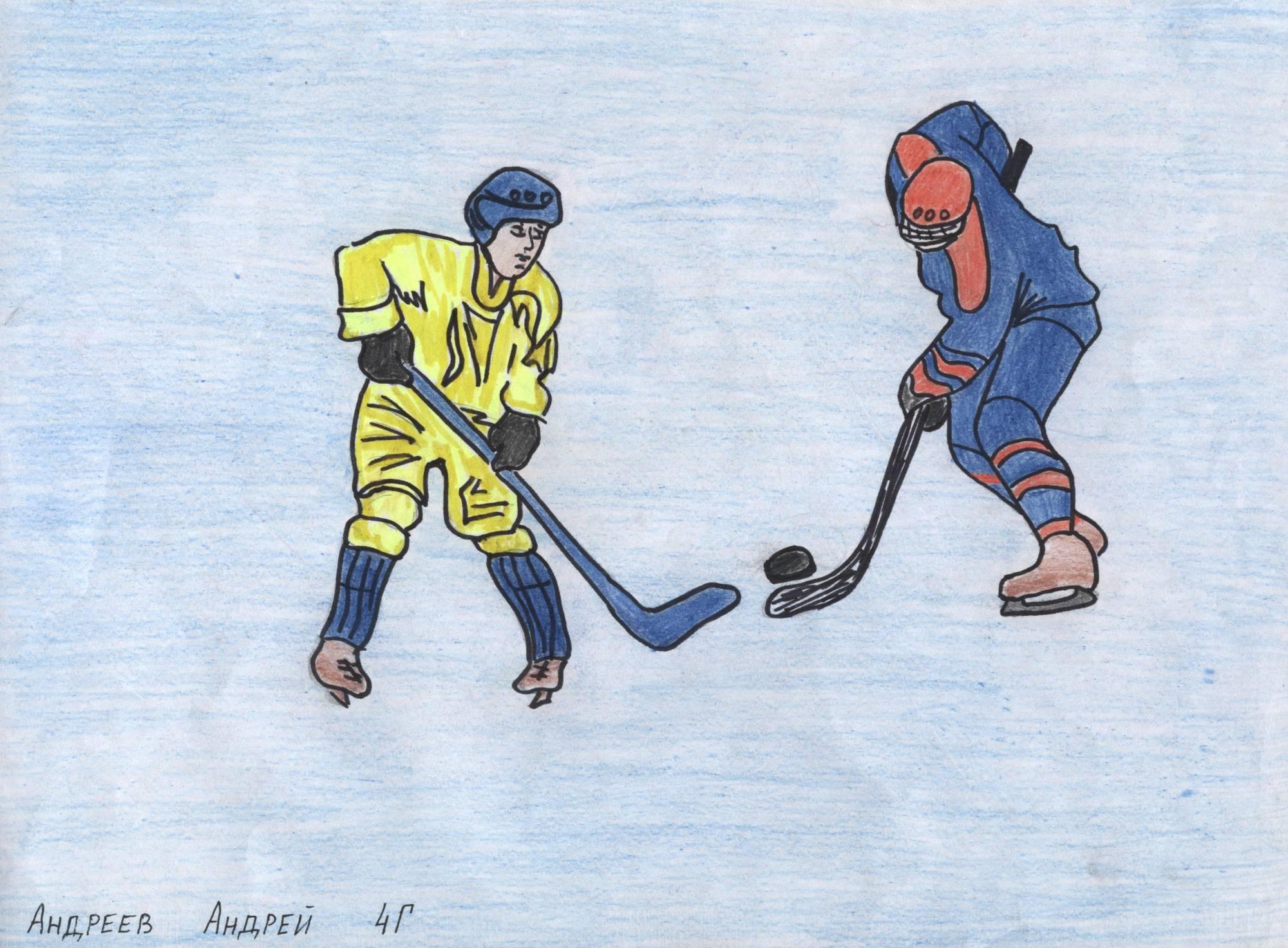 рисунки на тему спорта нарисованные
